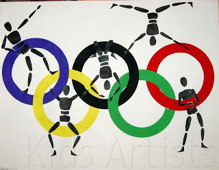 Honor Olympic athletes with this fun craft.