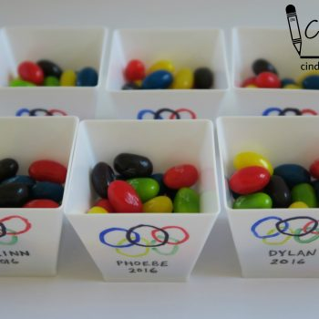 Olympic-Themed Treat Cups