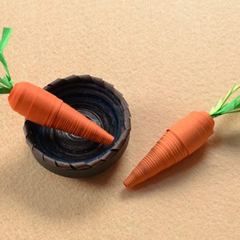 Quilled Paper Carrots