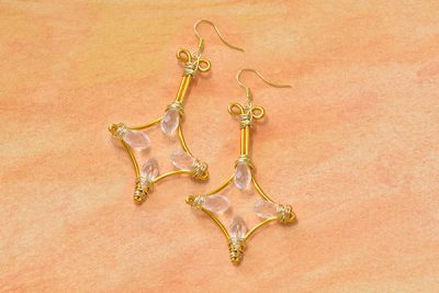 rhombus_earrings