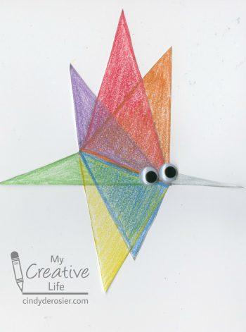Triangle Mosquito Art