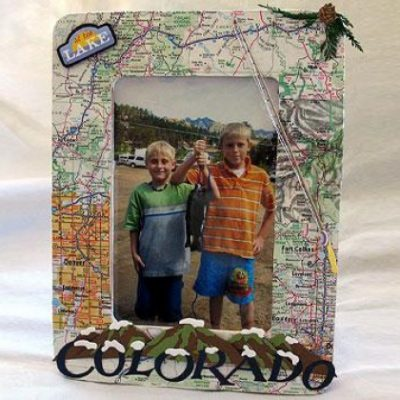 vacation-map-picture-frame