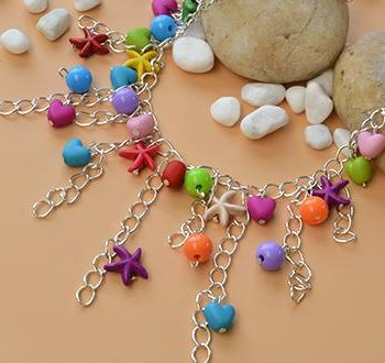 Beach-Inspired Anklet