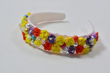 Pandahall Easy DIY - How to Make a Beautiful Homemade Resin Flower Bead Headband