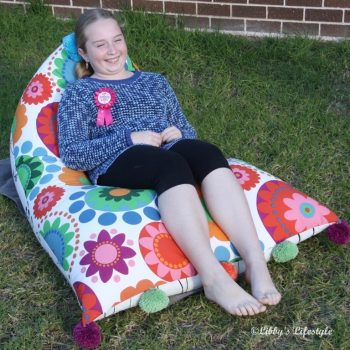 Homemade Bean Bag Chair