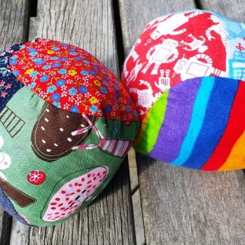 Stuffed Fabric Ball