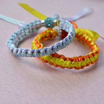 Braided Ribbon Bracelets