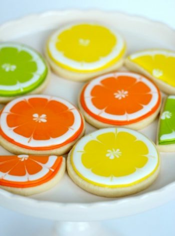 Citrus Slice Cookies