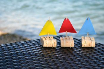 DIY Adorable Little Cork Sail Boats