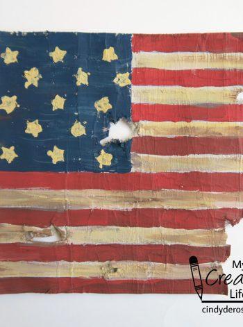 Cardboard Star-Spangled Banner