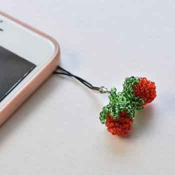 Beaded Strawberries
