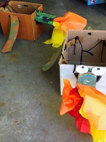 Cardboard Dragon