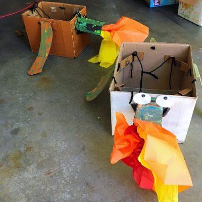 Cardboard-Dragon-pair-500x500