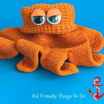 Hank the Octopus Glove Craft