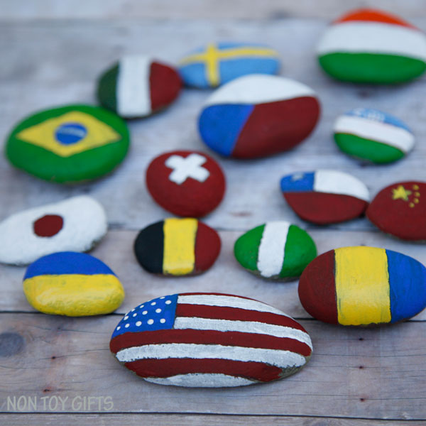 Flag rocks -Olympic craft