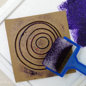 Rubber Band Stamp