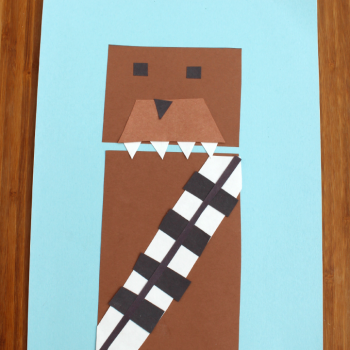 Chewbacca Shape Craft