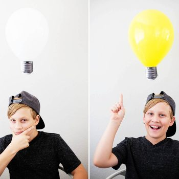 Light Bulb Balloons
