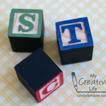 Monogram Block Magnets
