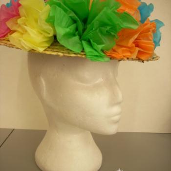 Colorful Clown Hat