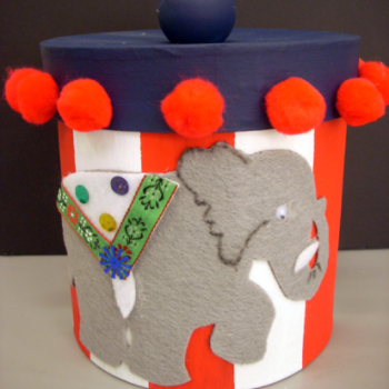 Elephant Treat Container