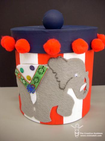 Elephant Treat Container