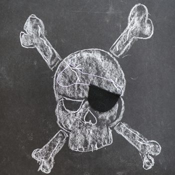 No-Sew Felt Pirate Patch