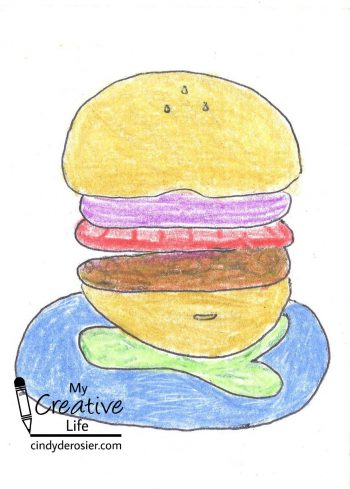 Turn your name into a hamburger!