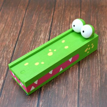 Alligator Pencil Box