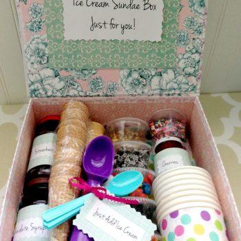 Sundae Gift Basket