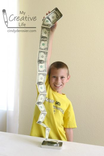A creative way to give money as a gift!