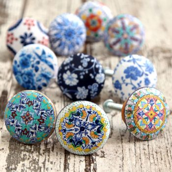 Decoupage Drawer Knobs