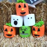 Toilet Paper Roll Halloween Game