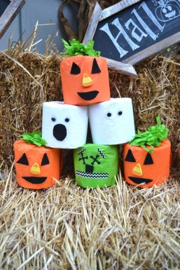 Use these Halloween characters to decorate or as part of a fun game!