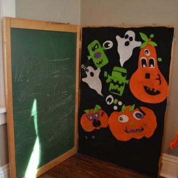 Pumpkin Felt Board