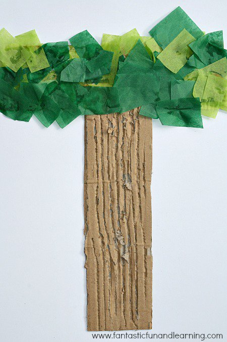 Letter T Tree Fun Family Crafts