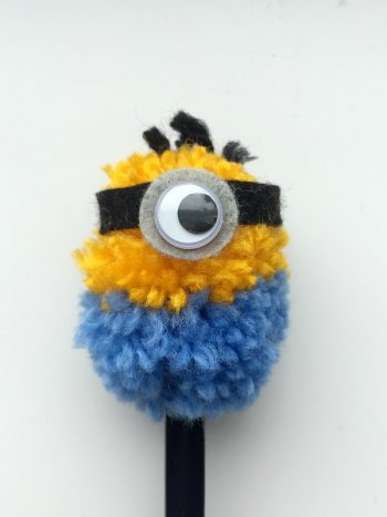 Minion pencil top