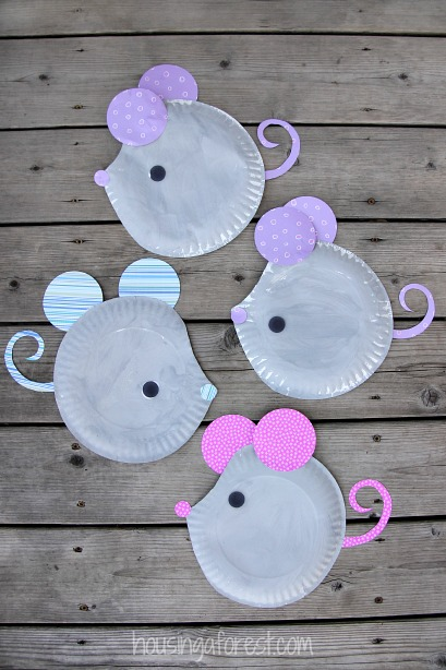 The perfect craft after watching 'Cinderella' or reading 'If You Give a Mouse a Cookie.'