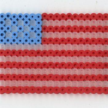 Perler Bead Flags