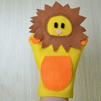 Felt Lion Puppet