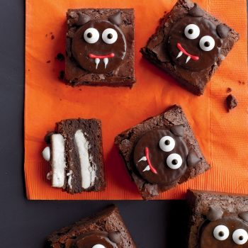 Vampire Cat Brownies