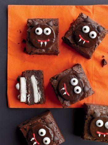 Vampire Cat Brownies