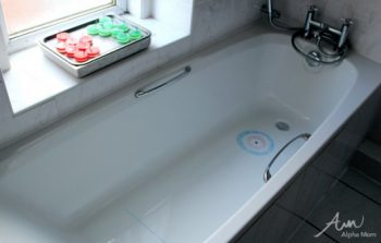 Play some Olympic curling in your own bathtub!