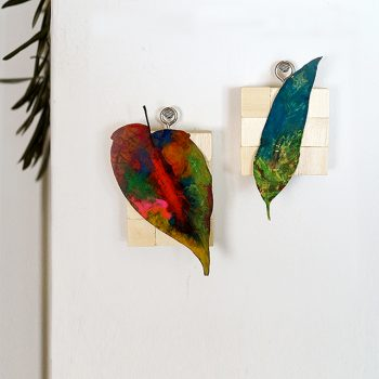Colored Leaf Display