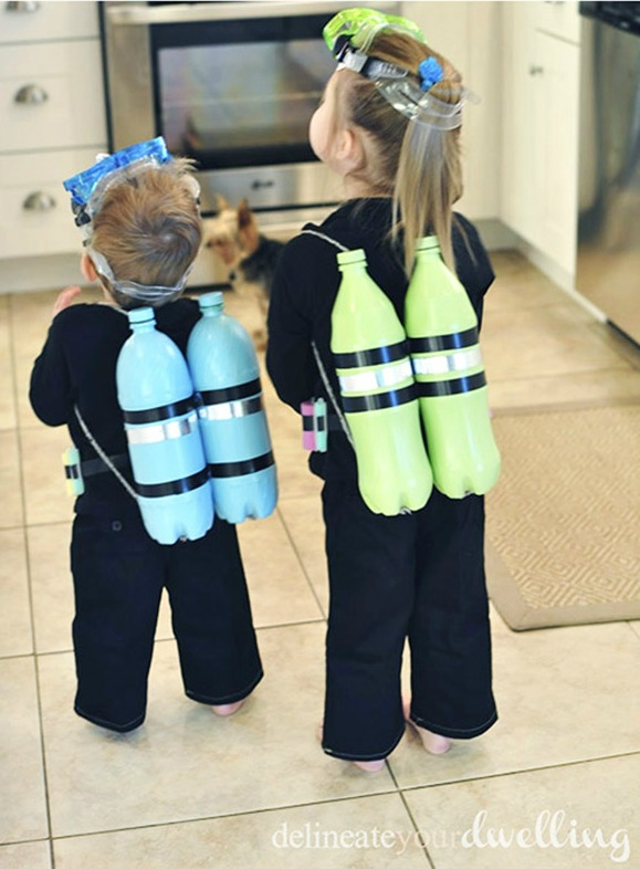 Such a clever costume for kids of all ages!