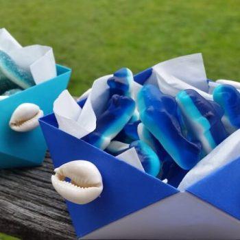 Disney Moana Origami Candy Bowls