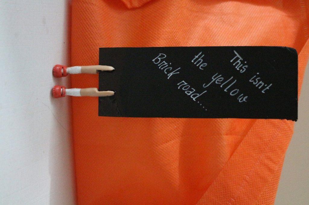 Make a Dorothy Bookmark