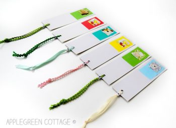 DIY Paper Bookmarks For Kids by AppleGreen Cottage