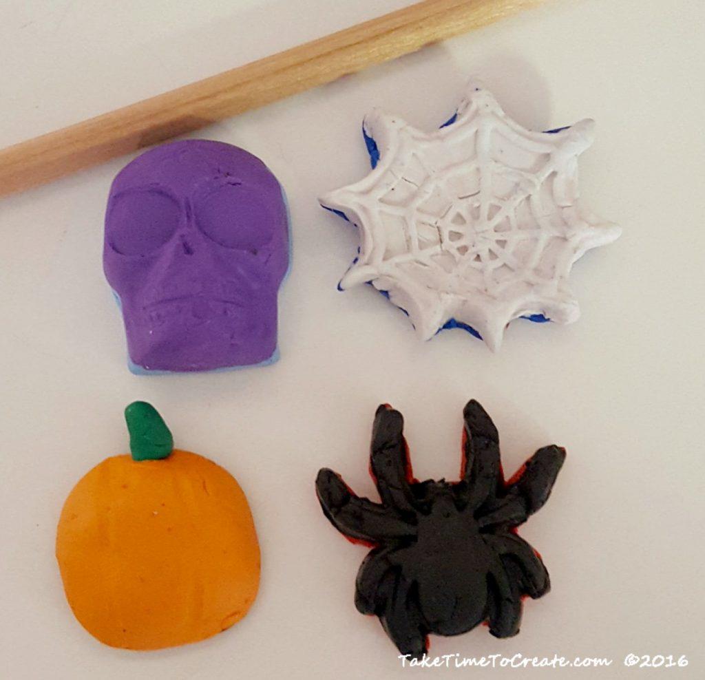 DIY Halloween Erasers