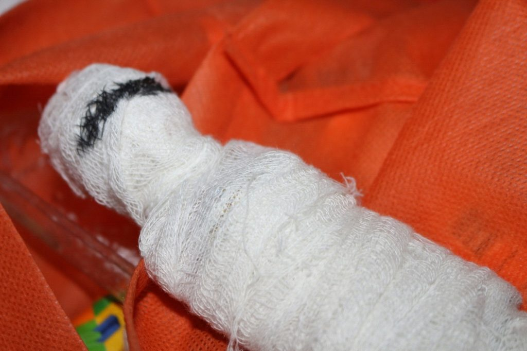 How to Make a Mummy Decoration